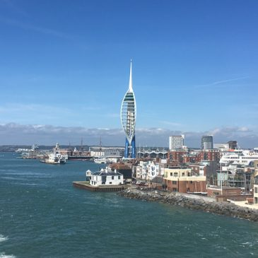 Jour 24 (22 Aout 2019) : Portsmouth et traversée vers Ouistream